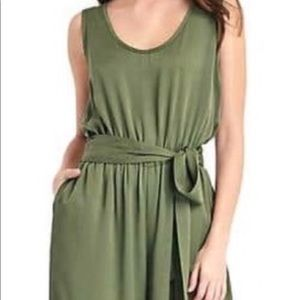 Gap Olive Green Culottes Jumpsuit🍸